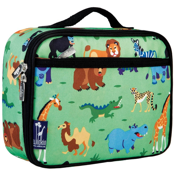 Wild Animals Lunch Bag