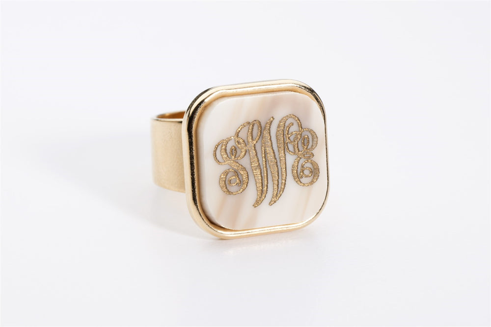 Vineyard Square Ring by Moon and Lola