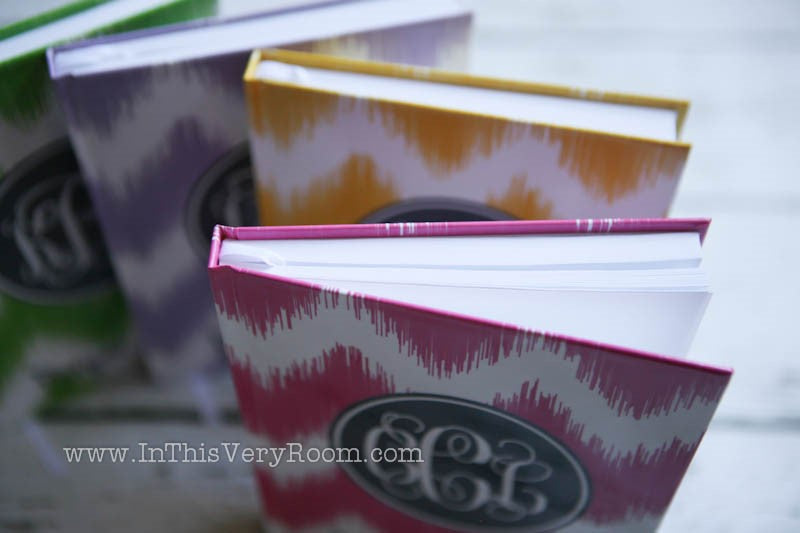 Chevron Stripes Prayer Journals - inthisveryroom