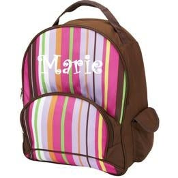 Spunky Stripe School Backpack by Four Peas