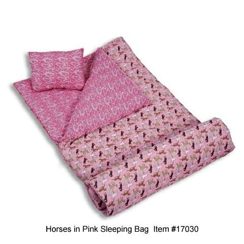 *SOLD OUT* Pink Horses Sleeping Bag - inthisveryroom