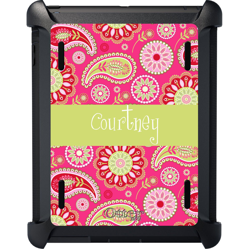Pretty Paisley iPad Otterbox Defender Case