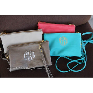 Personalized Cross Body Purses