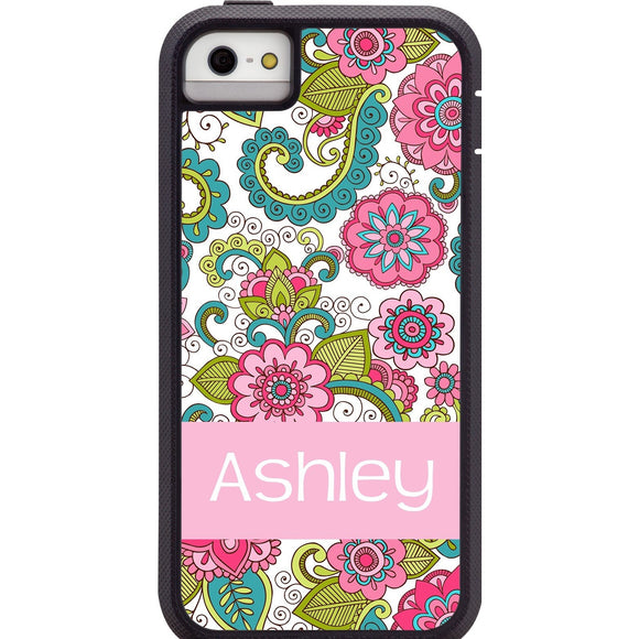 Personalized Floral CaseMate Tough Case