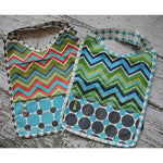 Chevron Stripes Bib & Wristlet Pod!