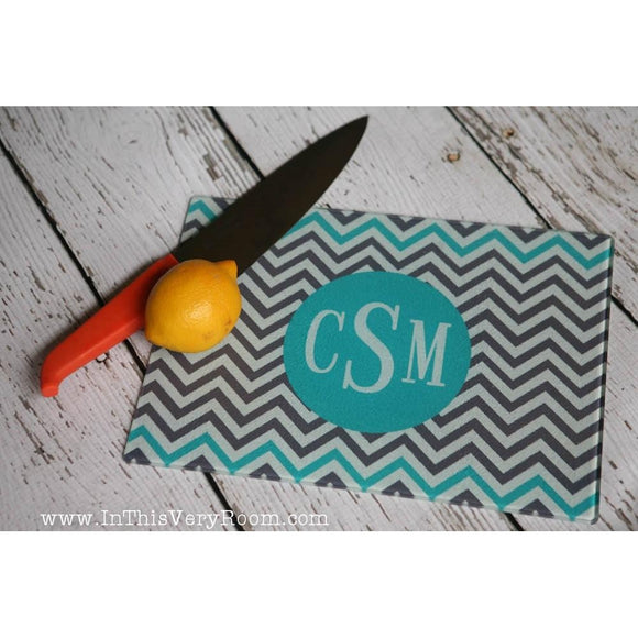 Chevron Stripes Cutting Boards - inthisveryroom