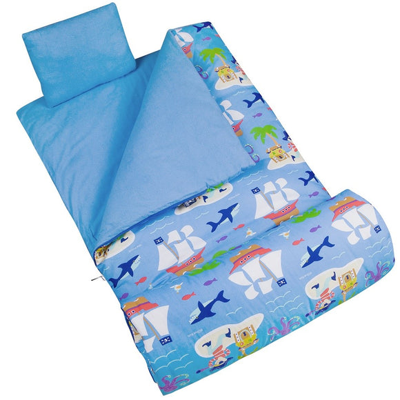 Pirates Sleeping Bag for Kids