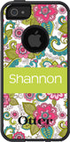 Personalized Floral Otterbox Case 1