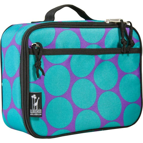 Purple & Aqua Dots Lunch Kit