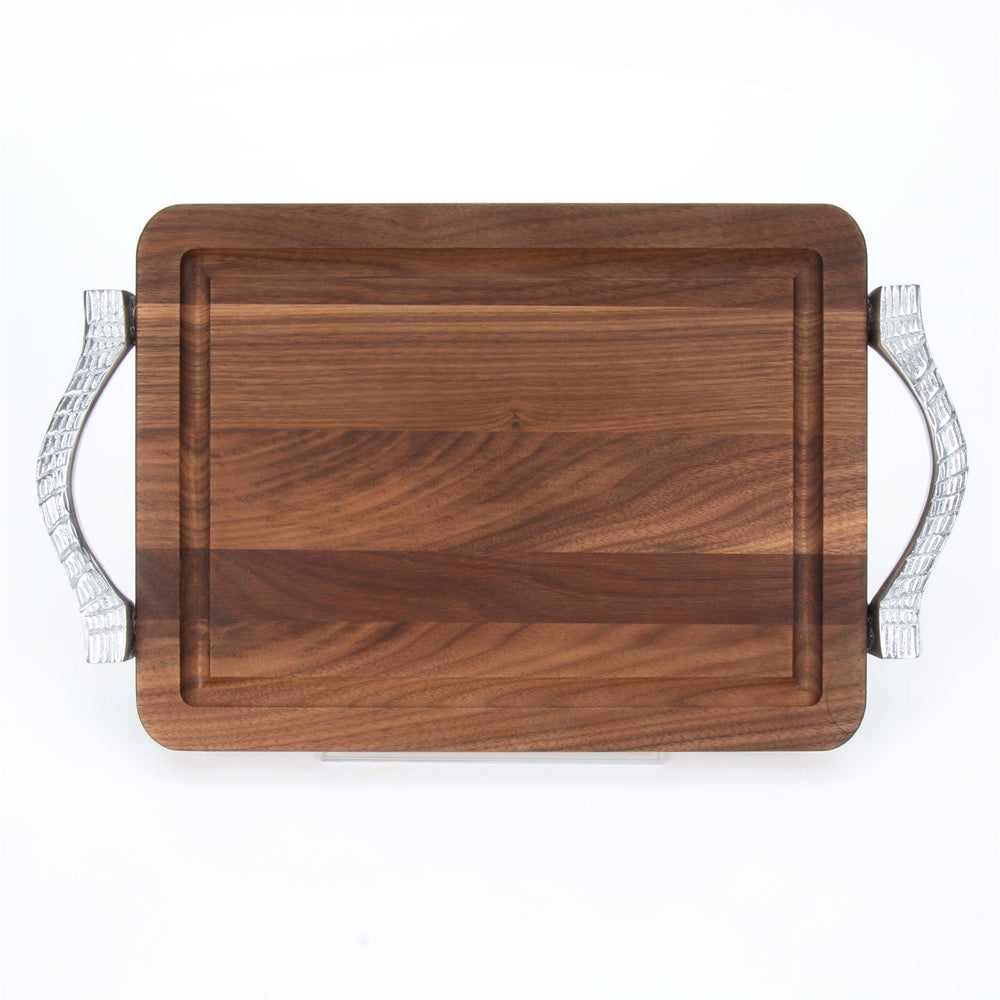 Walnut Rectangle Board with Handles