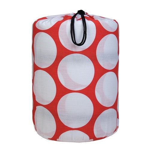 *SOLD OUT* Red & White Dots Sleeping Bag - inthisveryroom
