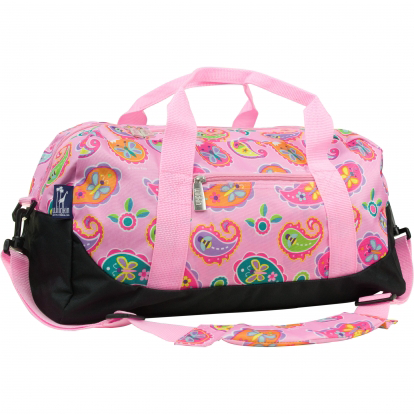 Paisley Sleepover Duffel Bag for Girls Personalized