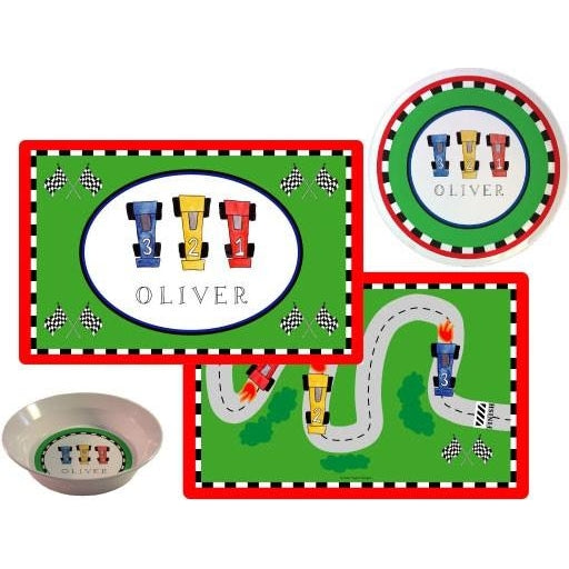 On Your Mark! Kids' Dish Set