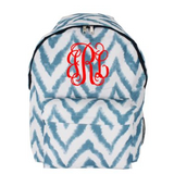 *SOLD OUT* Fun Chevron School Backpack - Blue - inthisveryroom
