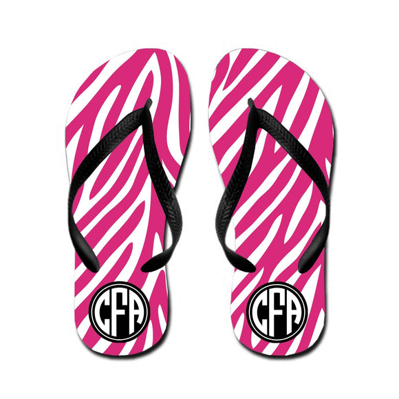 Personalized Kids Flip Flops