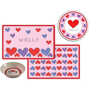 Happy Hearts Kids' Dish Set