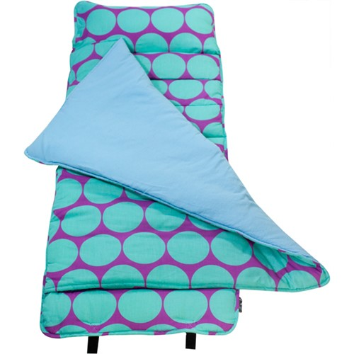 *SOLD OUT* Aqua & Purple Dots Nap Mat by Wildkin - inthisveryroom