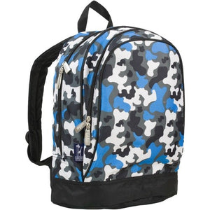 Blue Camo Toddler/Pre-K/Kinder Backpack - inthisveryroom