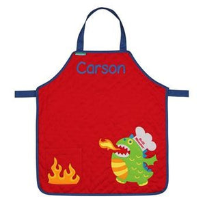 Personalized Monster Apron for little boys