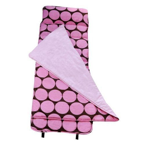 Pink & Brown Dot Nap Mat by Wildkin