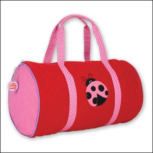 Ladybug Quilted Duffle Bag