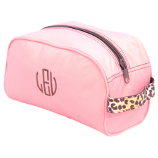*SOLD OUT* Pink with Cheetah Travel Bag