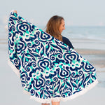 Round Beach Towels - Several Patterns!