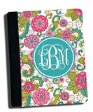 Personalized Floral Kindle Case