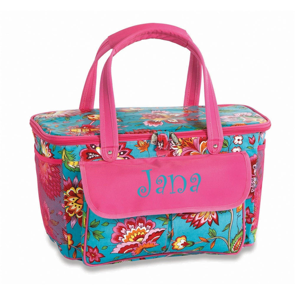 April Cornell Turquoise - Cooler Tote Basket