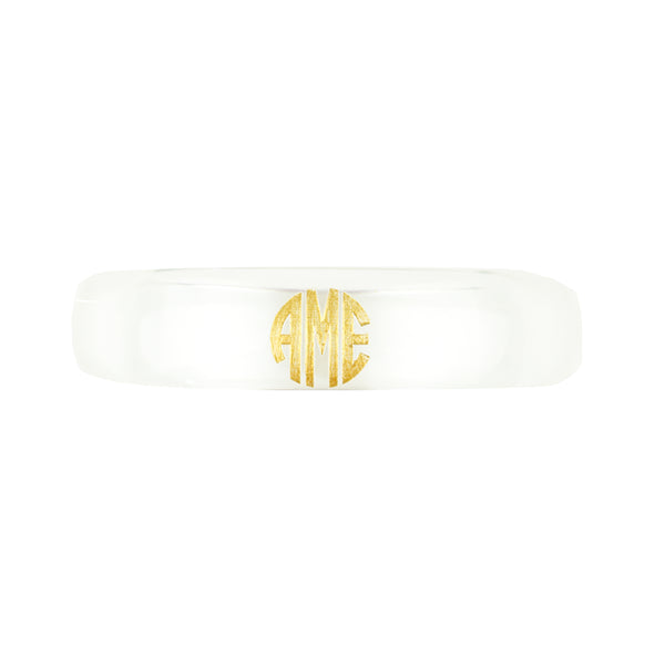 Clear Bangle Bracelet by Moon and Lola