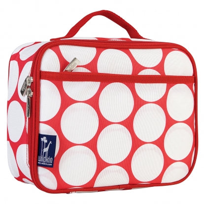 Red & White Polka Dots Lunch Bag