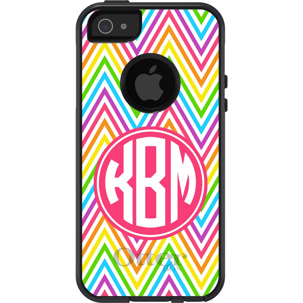 Rainbow Chevron - Otterbox Case
