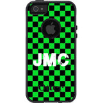 Green & White Checkered Otterbox