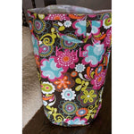 *LOW STOCK* Fun Floral Large Laundry Tote