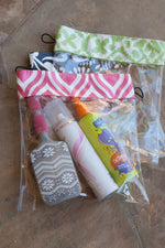 Personalized Clear Bags with Velcro