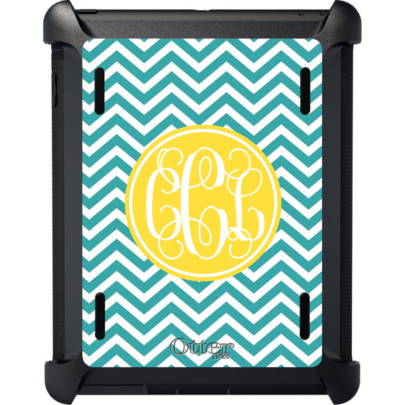 Chevron Stripes iPad Otterbox Defender Case - inthisveryroom