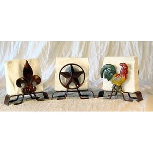 Iron Napkin Holders
