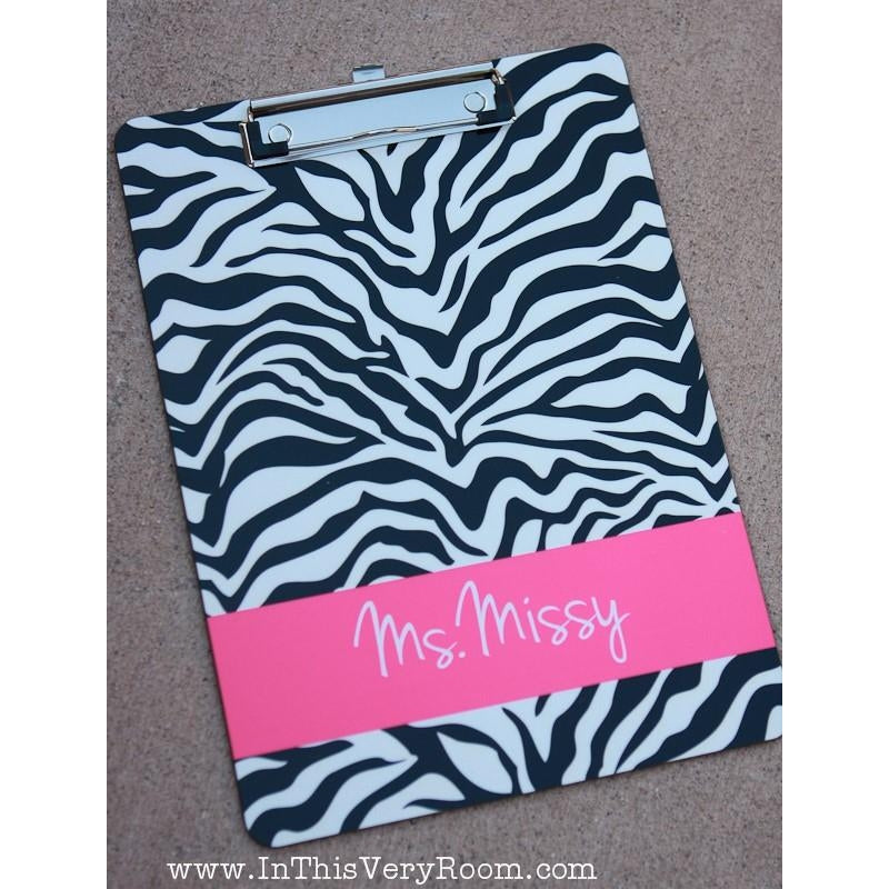 Zebra - Clipboard
