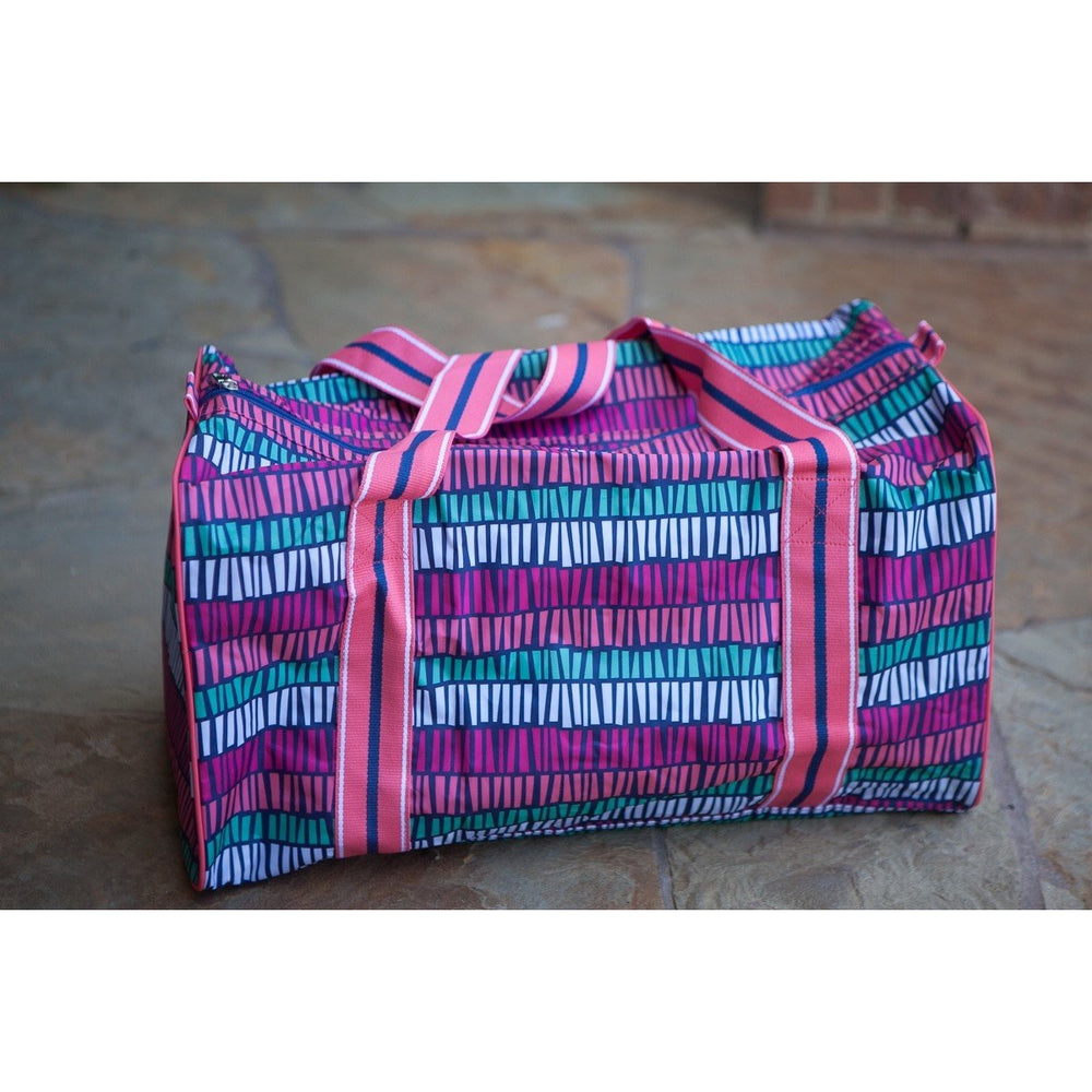 *LOW STOCK* Tribal Stripe Large Rectangle Duffel Bag