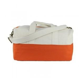 Canvas Small Duffel - Orange