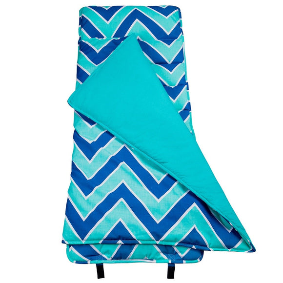 *SOLD OUT* Chevron Blues Nap Mat - inthisveryroom