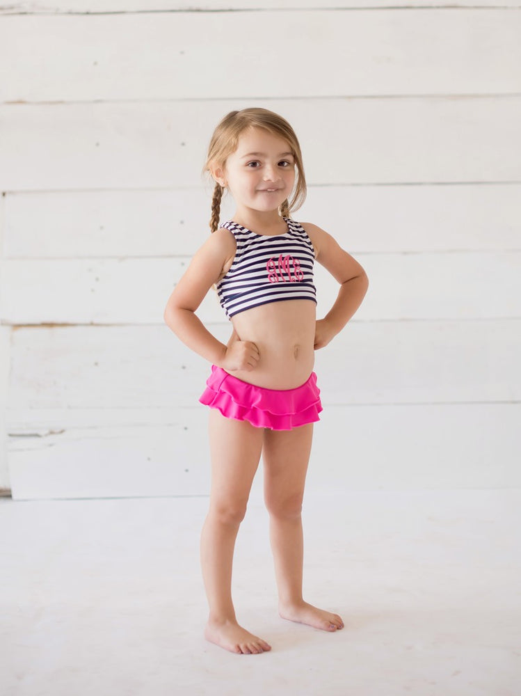 Paisley Swim Suit for Little Girls