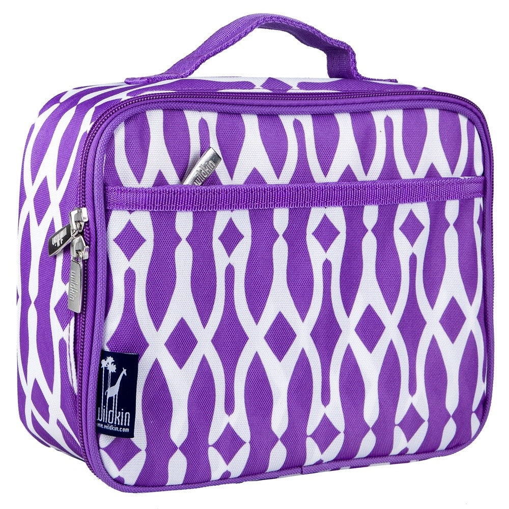 *SOLD OUT* Wishbone Purple Lunch Bag - inthisveryroom