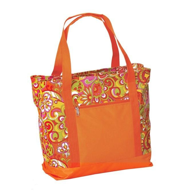 Orange Jubliee 2-in-1 Cooler Bag