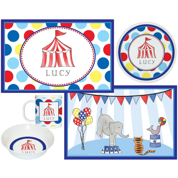 Circus Act Kids Dish Sets! Kids' Dish Set
