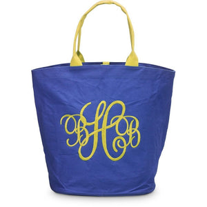 *SOLD OUT* Spring Fling Navy & Yellow Bag - inthisveryroom