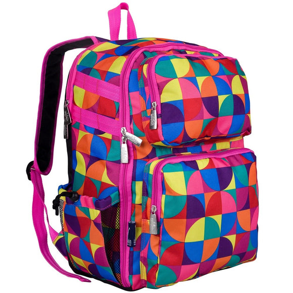 Personalized Pinwheel Backpack - Girls Colorful Backpack
