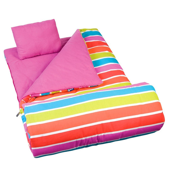 *SOLD OUT* Bright Stripes Sleeping Bag - inthisveryroom