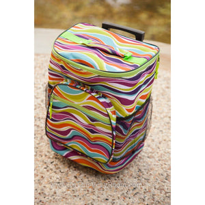 *SOLD OUT* Fun Stripes Rolling Cooler - inthisveryroom