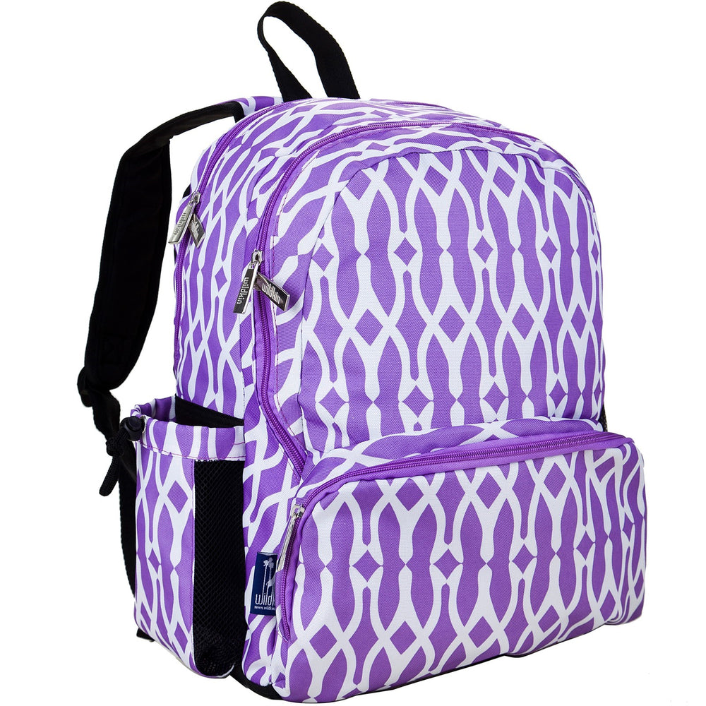 Wishbone Purple Large Backpack